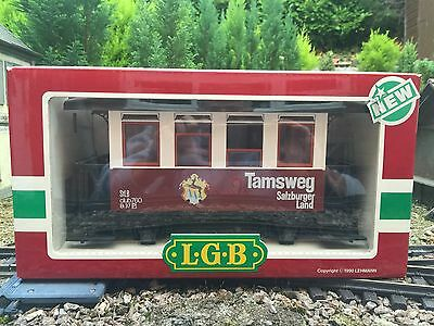 """LGB 3307 4 Wheel Passenger Carriage """"Tamsweg"""" Excellent Condition"""