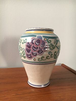 Early Carter Stabler Adams / Poole Pottery Vase 1920's
