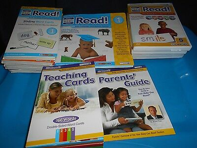Your Baby Can Read Lot DVDs Sliding Word Cards Teaching Books Robert Titzrt