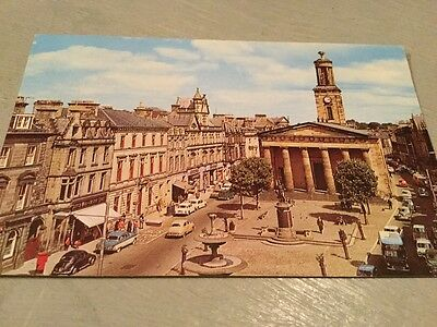 Vintage postcard circa 1967 'High Street ,Looking East ,Elgin'