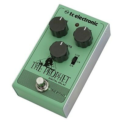 TC Electronic The Prophet Compact Digital Delay Guitar Effects Pedal