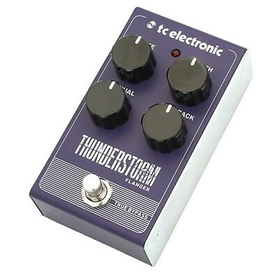 TC Electronic Thunderstorm All-Analog Flanger Guitar Effects Pedal