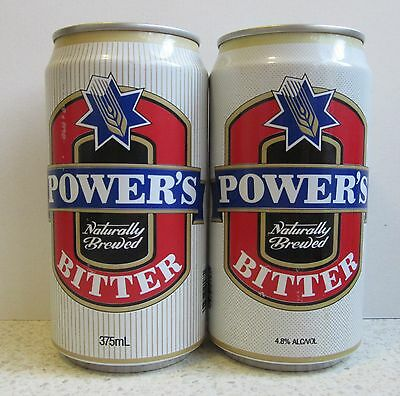 Powers Bitter Trial Designs - Empty Beer Cans