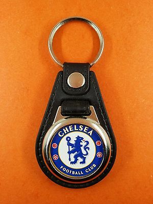 "Porte clés Luxe rond "" Chelsea Football Club """