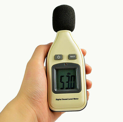 GM1351 Portable Digital LCD Sound Level Meter Noise Tester 30-130dB Decibels