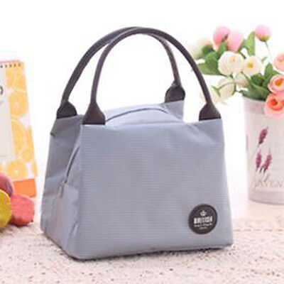 Portable Thermal Insulated Cooler Lunch Picnic Carry Tote Storage Bag Pouch Box