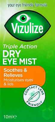Vizulize Dry Eye Mist (Triple Action)