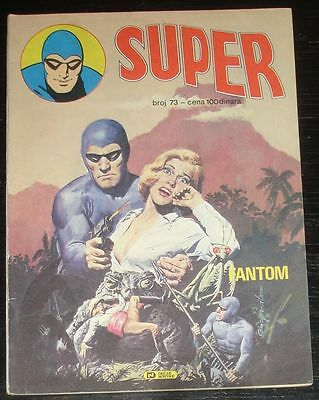 Fantom / The Phantom / Super eks 73 / Yugoslavia, 1985. / Mandrake The Magician