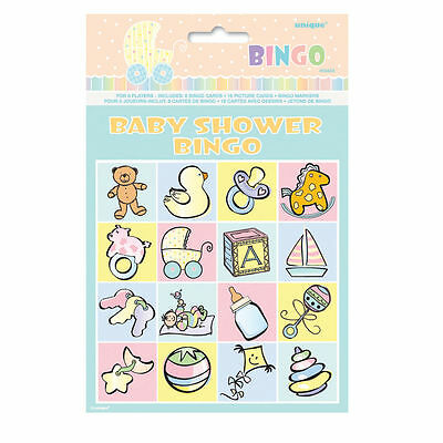 Awesome Baby Shower Decorations & Accessories- Banner Balloons Bingo Invitations
