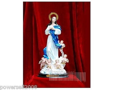 Catholic Church Angel Christian Blessed Virgin Mary Statue Decoration Gift .