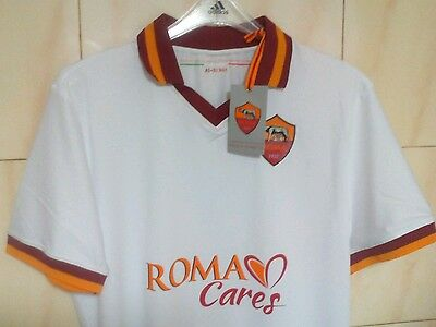 AS Roma away own brand shirt, XXL, 2013/14, BNWT, STROOTMAN, GERVINHO, DESTRO.