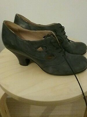 1920s vintage leather shoes