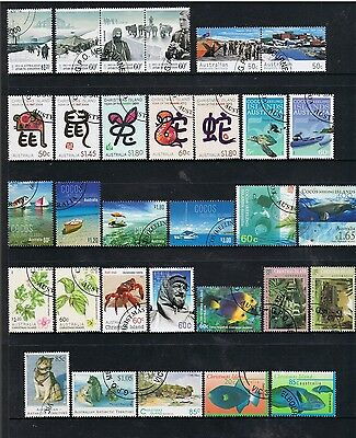 Selection Of Cto Stamps From Christmas Island/a.a.t/cocos Island