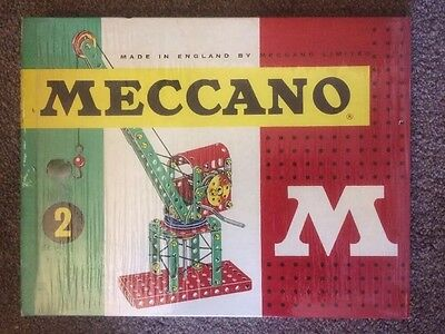 Vintage Cellophane Wrapped Unopened 1960s Meccano Set 2