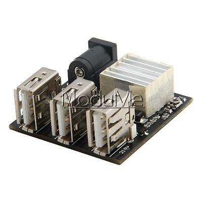 9V/12V To 5V 8A USB Power Bank Step-up Boost Module MiNi 3 USB Charging Modue MO