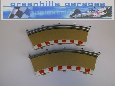 Greenhills Scalextric Radius 3 outer barriers and fencing x 2 Used - MACC237 ##