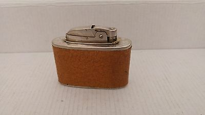 Vintage Leather Case Table Lighter