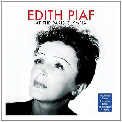 Edith Piaf - At The Paris Olympia (2LP Gatefold On 180g Vinyl) NEW/SEALED