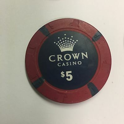 $5 Crown casino chips