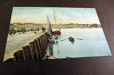 WHITHORN c1905 Harbour & Boats