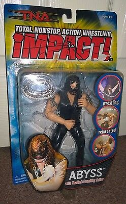 TNA Impact figure Abyss - WWF WWE - Marvel toys
