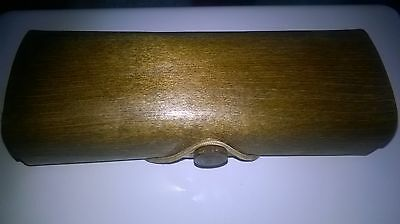 wooden glasses spectacle case