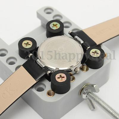 Wristwatch Watch Back Case Cover Opener Remover Holder Adjustable Repair Tool