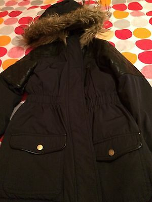 Girls School Coat Very warm Age 9 To 10 Excellent Condition