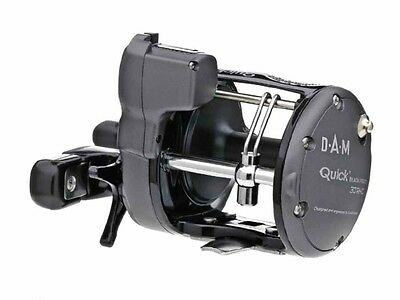 Nuevo 2017 D.A.M Quick Black Pirate LHC + RHC / reel for saltwater fishing