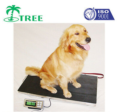 350kg x 0.1kg Animal Weighing Platform Scale LVS350 Vet Dog Greyhound Livestock