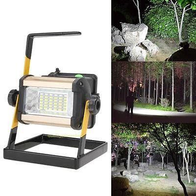 Rechargeable 50W 36LED Portable LED Flood Spot Work Light Camping Outdoor Lamp