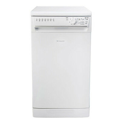 Hotpoint SIAL 11010P A+AA Rated 45cm Slimline Dishwasher with 10 place settings