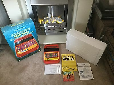 RARE COMPLETE MINT Vintage Speak and & Spell Texas Instruments