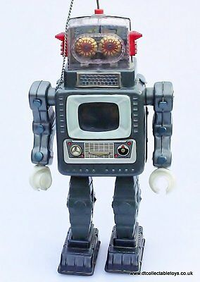 Vintage Alps (Japan) TELEVISION SPACEMAN Robot 1965 In Near Mint Condition