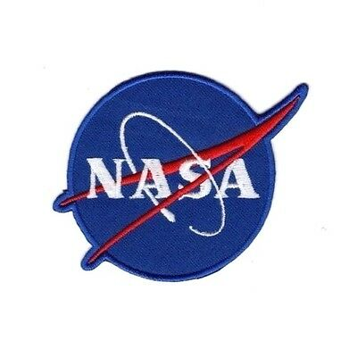 NASA SPACE PROGRAM ASTRONAUTS Embroidered Patch Iron Sew Logo Hardcore Emblem 2