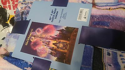 Disney Parks Castle Throw Blanket new with tags 40 x 60