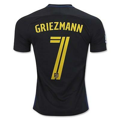 Atletico Madrid GRIEZMANN 7 Soccer Away Jersey for US size M