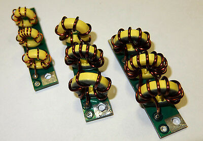 6 pcs KIT LPF 300W 1.8-29MHz low pass filter 1 pc for 1 band