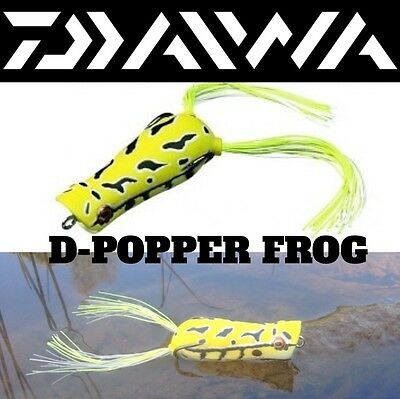 """DAIWA ULTIMATE ULTIMATE FRESHWATER SURFACE LURE """"D-POPPER FROG"""" 6.5cm/14g"""