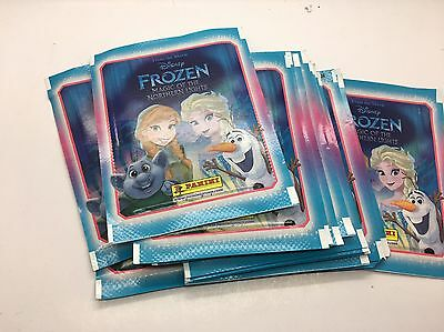10 X Panini Disney Frozen Magic Of The Northern Lights Sticker Pack (10 Packs)