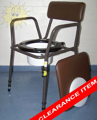 Commode Disability Toilet Portable!!