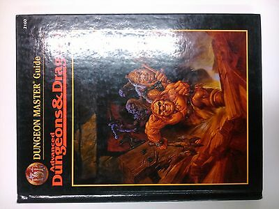 AD&D 2nd Edition Dungeon Master Guide Hardback Advanced Dungeons & Dragons TSR