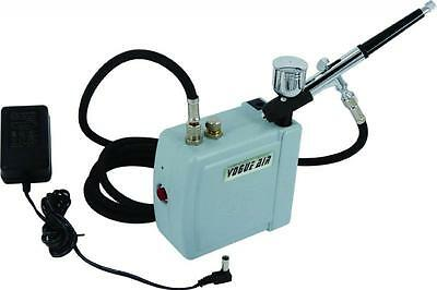 CT3745 Mini Airbrush & Compressor Kit Ideal For Crafts Arts Hobbies Model Making