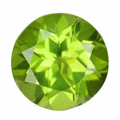 2.810 Cts Extraordinary Luster Green Natral Peridot Round Loose Gemstones