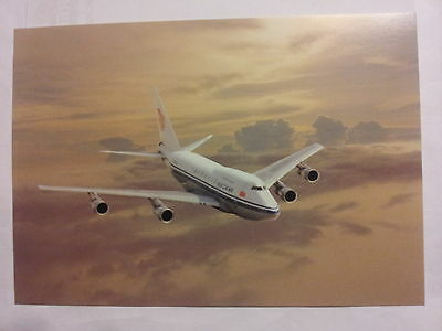 Airline Issue-AIR CHINA -Boeing 747SP- AVIATION Postcard