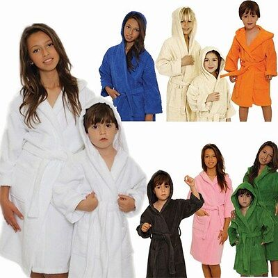 Kid's Terry Hooded Bathrobe, Choose your Color!!! ADD MONOGRAM!!!