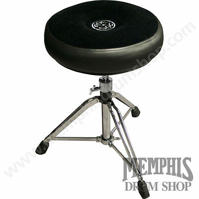 Roc-N-Soc Manual Spindle Drum Throne - Round Seat
