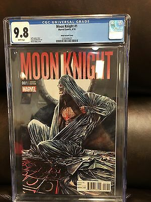 Moon Knight #1 1:25 Marco Rudy Lemire Variant CGC 9.8 NM+/M