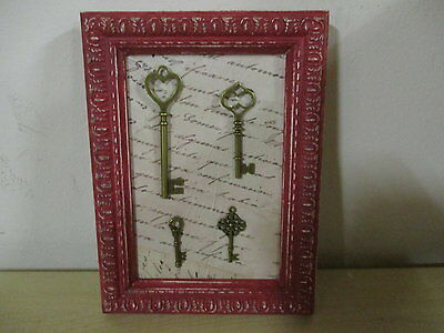 Marco Antiguo Restaurado Con Llaves / Antique Frame Restored With Keys