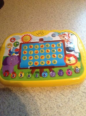 Little Tikes Jungle Buddy Play Pad Letters & Numbers Baby Toddler Tablet Toy